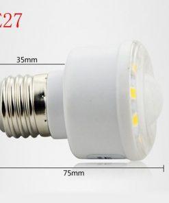 Bóng đèn led cảm biến thân nhiệt